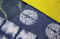 Adams Hand Stitched Shibori Resists A